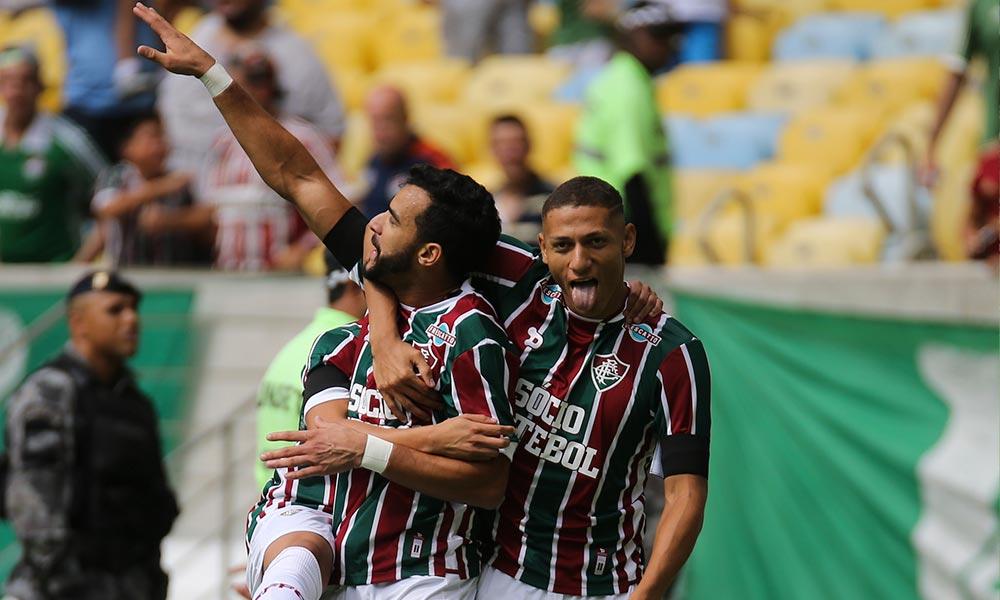 Em jogo com cinco gols no Maracanã, Fluminense bate o Santos
