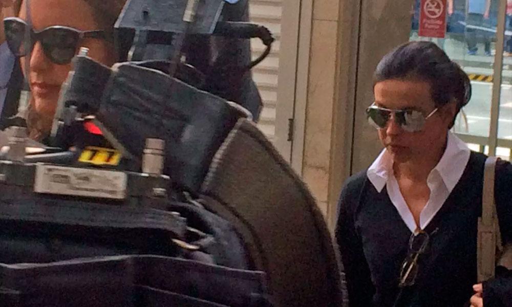 Adriana Ancelmo chega para ser interrogada em processo da Operação Calicute
