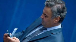 STF determina afastamento de Aécio Neves do mandato