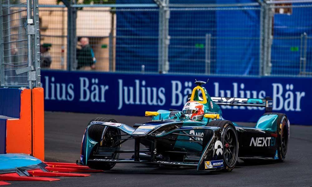 Nelsinho Piquet marca pontos pela quarta corrida consecutiva na FIA Fórmula E