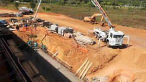 Obras no Bananal estão 41% executadas