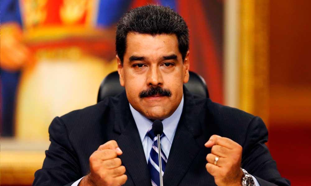Maduro ameaça ir às armas caso haja risco de destruição da revolução bolivariana