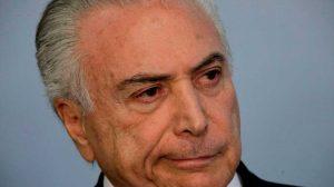 Temer cancela ida ao G20, informa Planalto