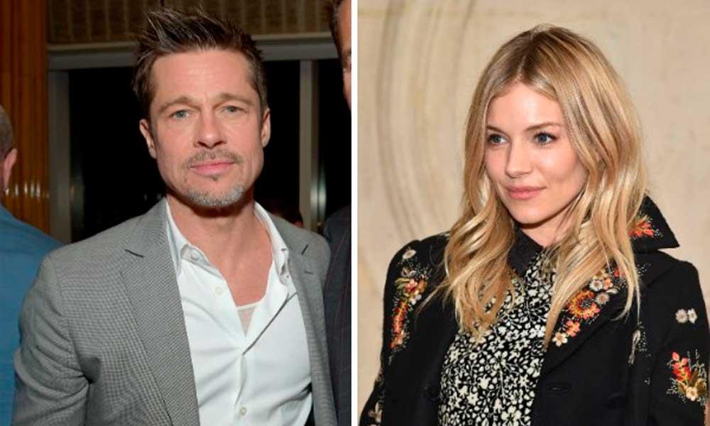 Brad Pitt e Sienna Miller estão namorando em segredo, diz revista