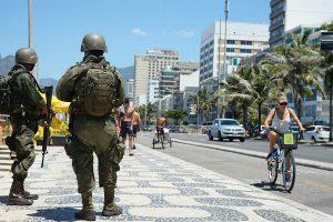 Forças Armadas irão para as ruas do Rio de Janeiro