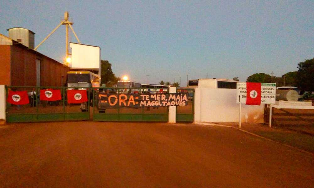 MST invade fazendas de Blairo Maggi e Ricardo Teixeira
