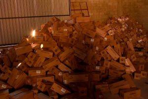 PMDF descobre galpão com carga roubada avaliados em R$ 5 milhões no SCIA