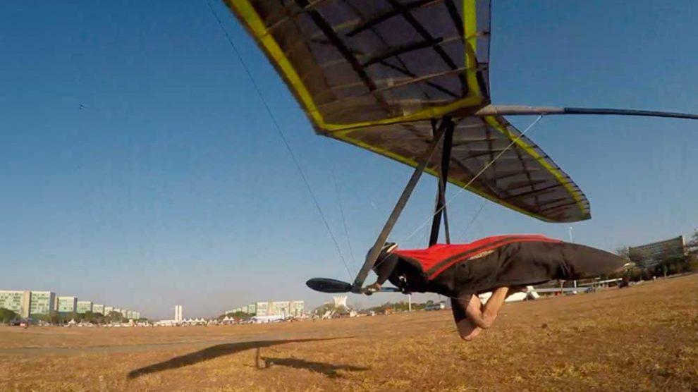 Piloto brasileiro é destaque do terceiro dia do Mundial de Asa Delta