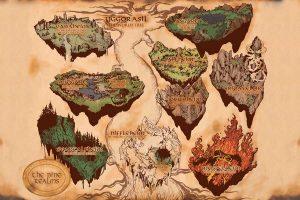 Yggdrasil – Os Nove Mundos da Tradição Nórdica