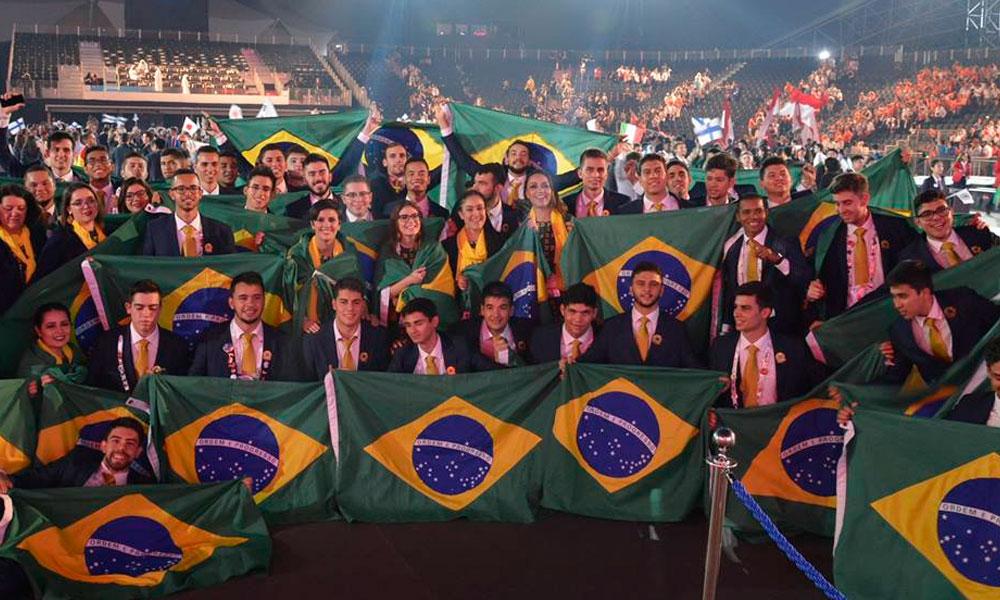 Brasil é vice-campeão em mundial de profissões técnicas com 7 medalhas de ouro
