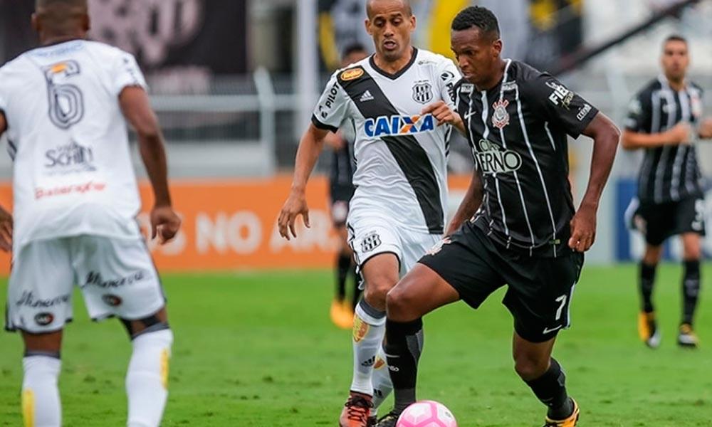 Ponte Preta vence o Corinthians, que fica com a liderança ameaçada