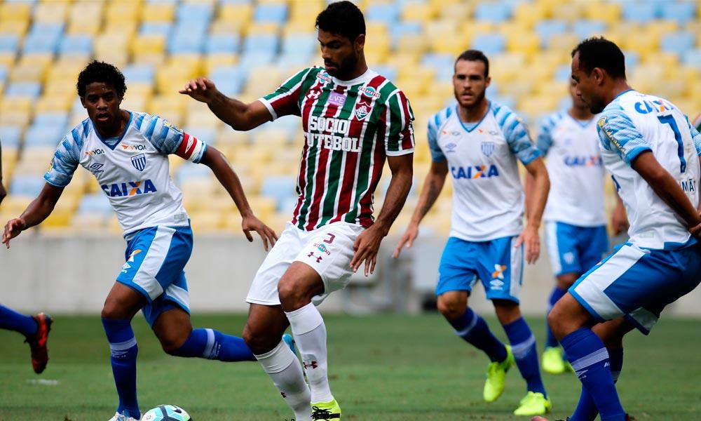 Fluminense vence o Avaí no Maraca e deixa zona de rebaixamento