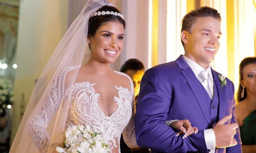 Munik Nunes, campeã do 'BBB16', se casa em Fortaleza