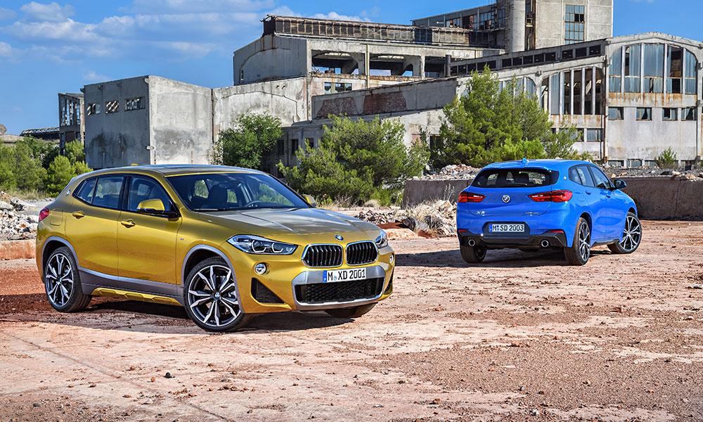 BMW revela o novíssimo X2, que chega ao Brasil em 2018