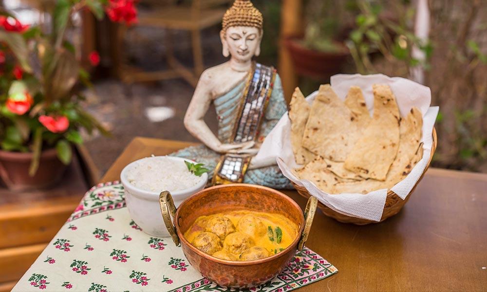 Os sabores da Índia e da Tailândia em um só lugar