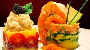La Table de Grand Cru inclui no menu pratos com inspiração peruana
