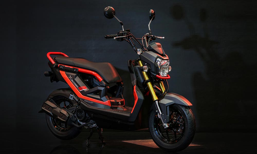 Honda ZOOMER-X: revolucionária e excitante, modelo rompe com os moldes dos scooters tradicionais
