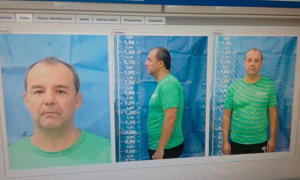 Promotoria analisa dez mil horas de gravação em cadeia de Cabral