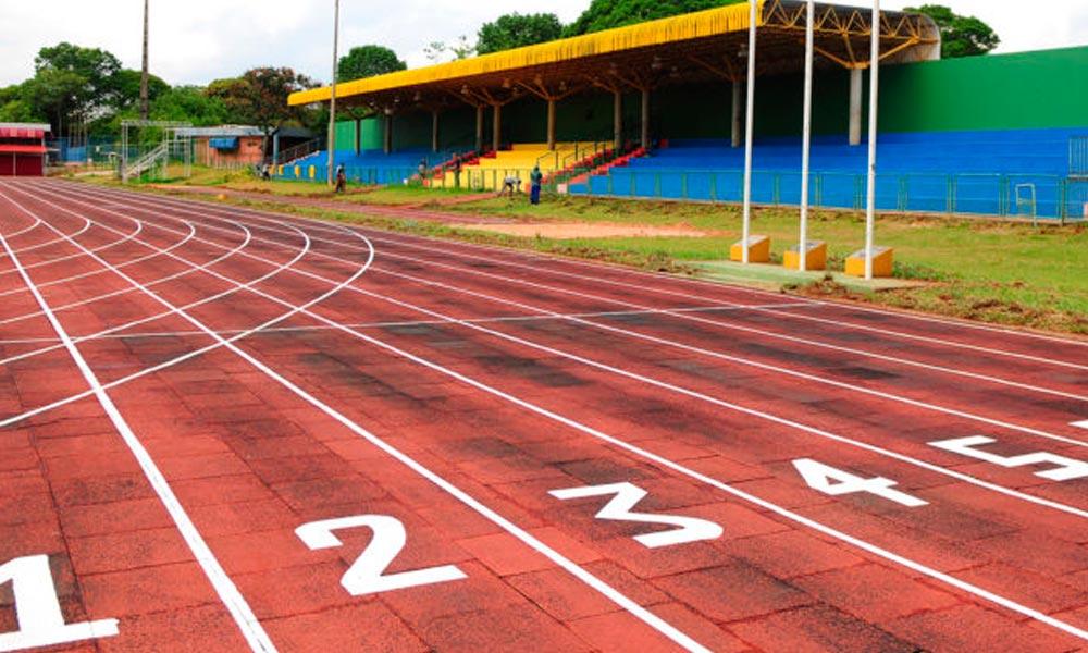 Cief passa por reforma para receber atletismo nos Jogos Escolares