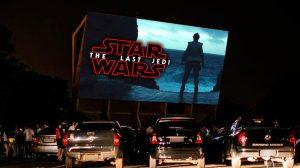 Star Wars a céu aberto