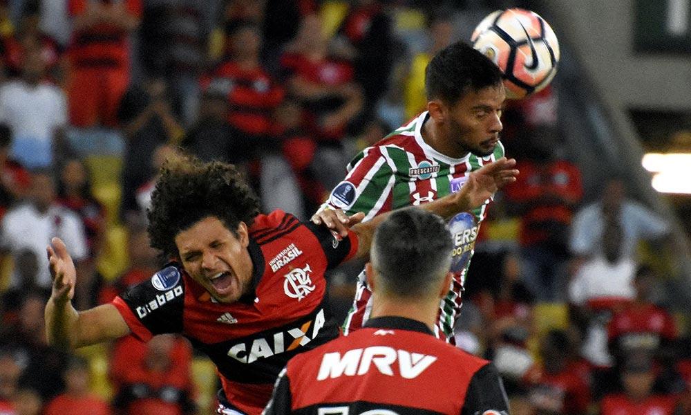 Na raça! Flamengo arranca empate heroico contra o Flu e está na semifinal