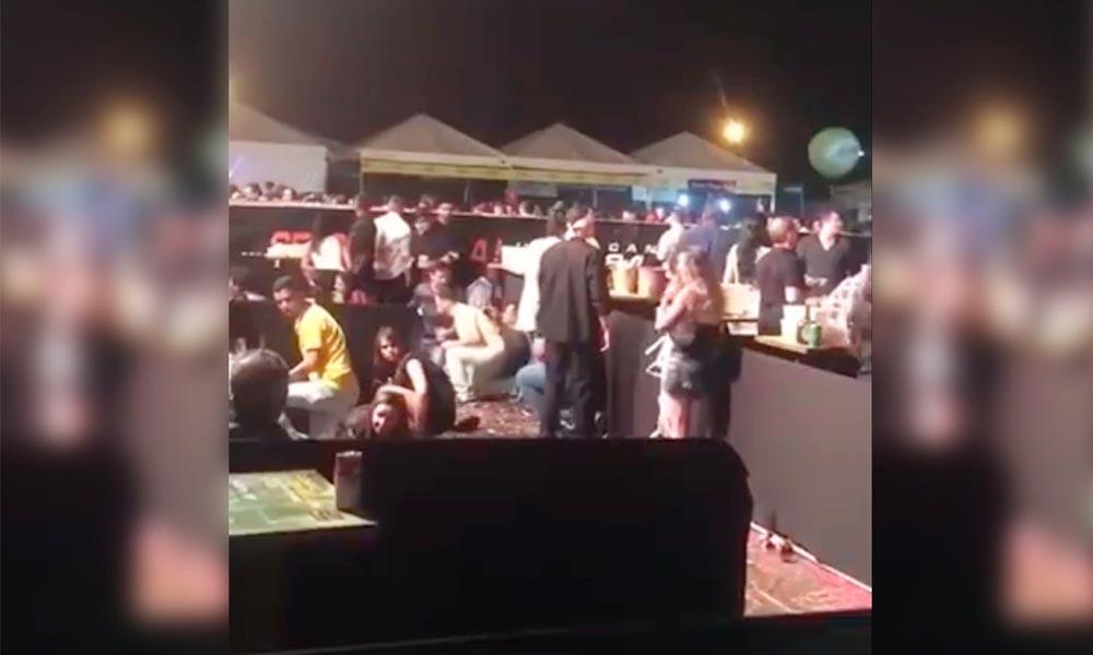 Gusttavo Lima deixa palco ao perceber tiros; assista