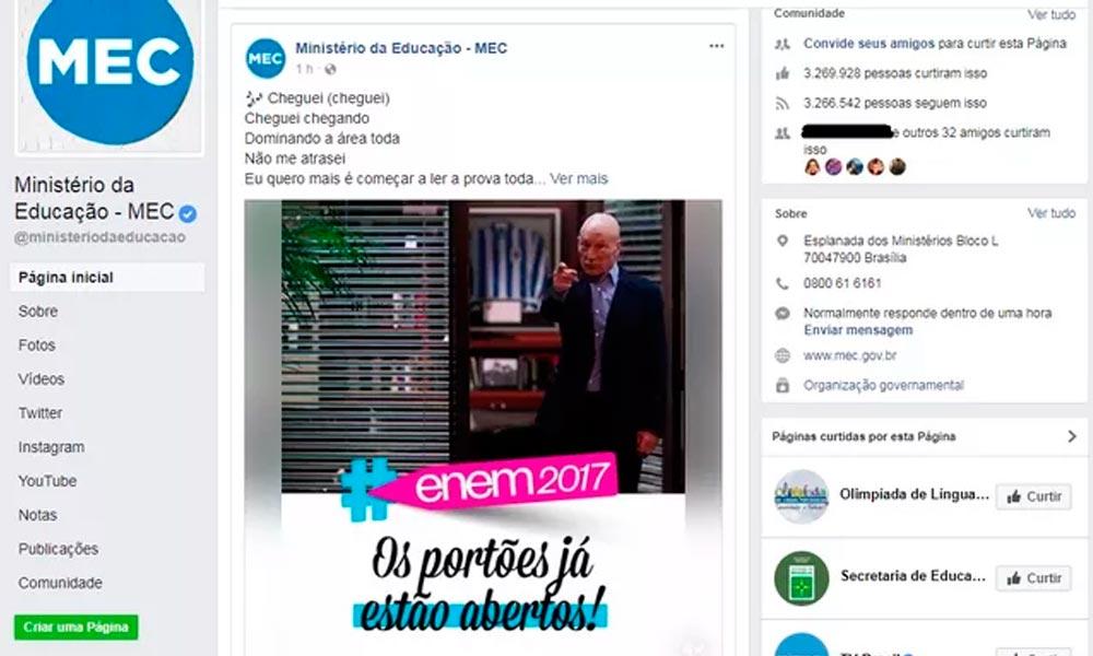 Pabllo Vittar, Anitta e Ludmilla inspiram MEC em piadas sobre Enem