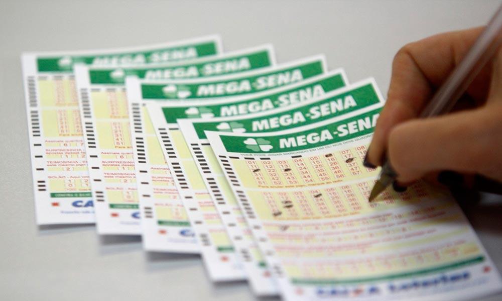 Mega-Sena não tem vencedor no prêmio principal e acumula para o próximo sorteio