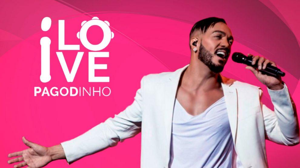 Festa I Love Pagodinho com cantor Belo