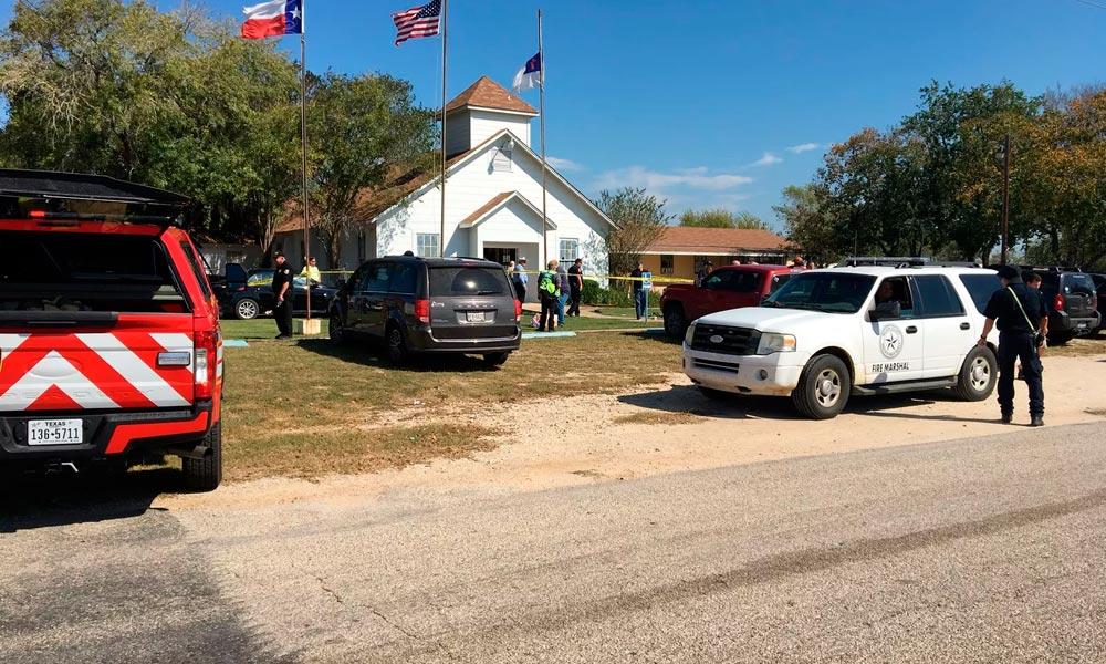 Tiroteio deixa mais de 20 mortos em igreja no Texas