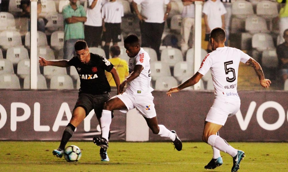 Vasco vira para cima do Santos; Corinthians agradece