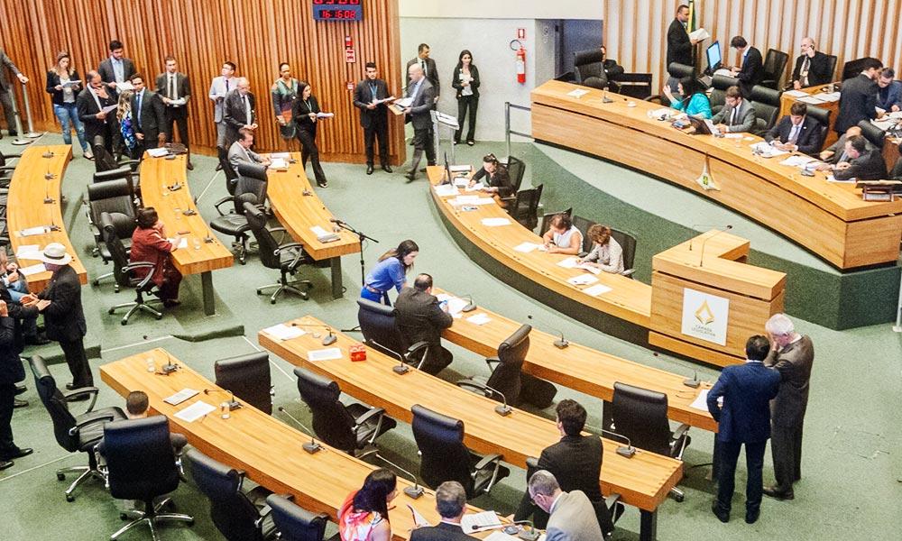 Câmara Legislativa aprova orçamento de R$ 26,95 bilhões para 2018