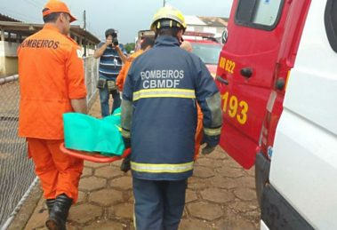 5461fd7bce Motorista sobrevive ao cair de ponte da barragem do Lago Paranoá