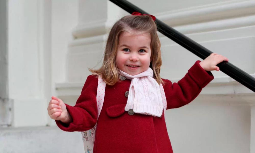 Princesa Charlotte vai à escola pela primeira vez. Foto: Instagram/Reprodução