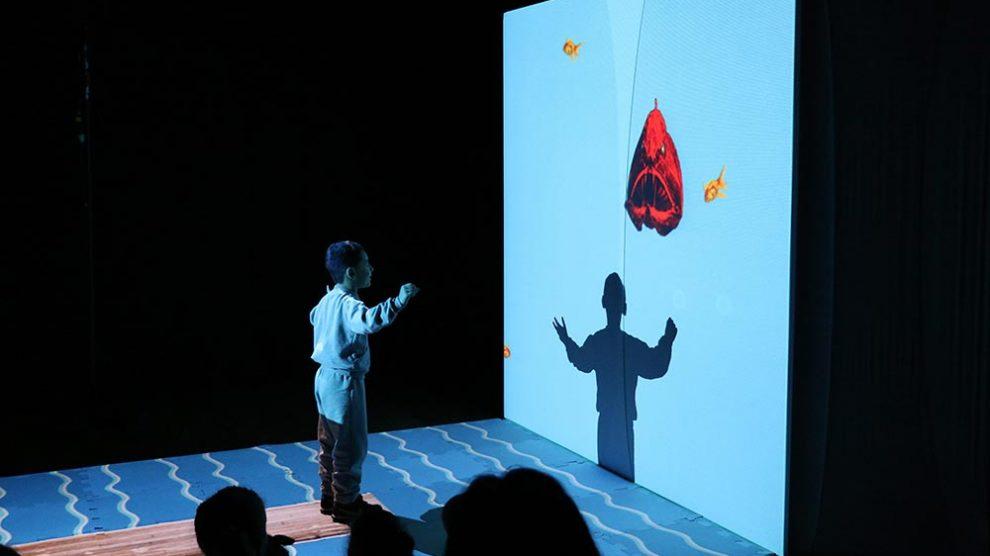 Caixa Cultural Brasília recebe #Mergulho, espetáculo para primeira infância