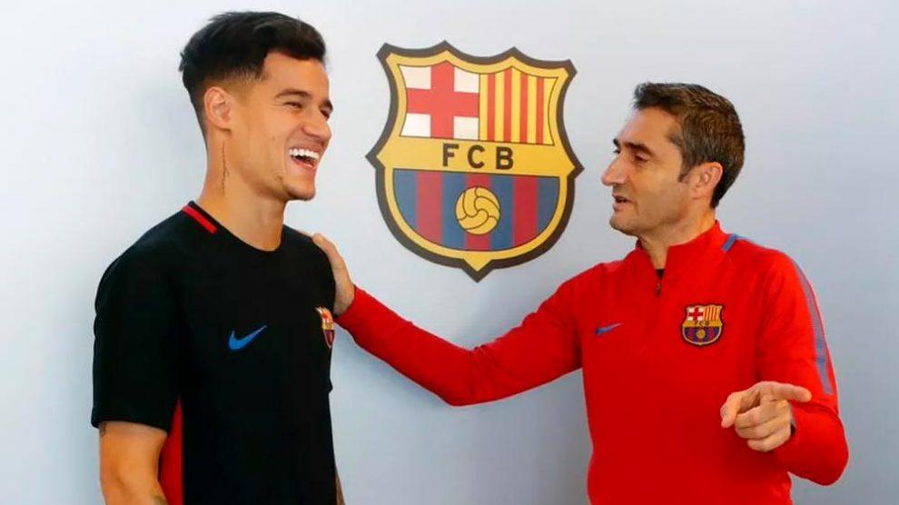 """Coutinho confessa: """"Saber que vou jogar com Messi é incrível"""""""