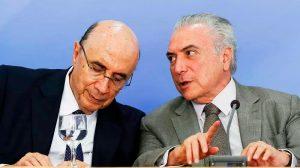 Temer chama Meirelles ao Planalto após rebaixamento da nota do Brasil