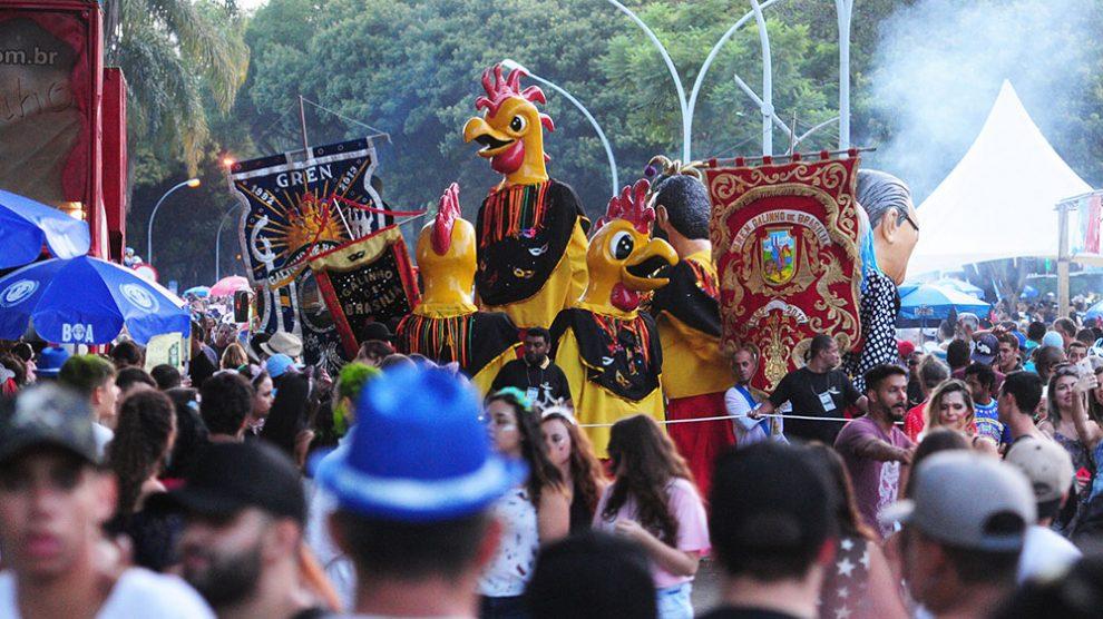 Carnaval - Blocos de rua de Brasília arrastam 20 mil foliões na tarde deste sábado