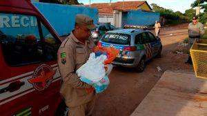 Bebê achado em lata de lixo está internado em Santa Maria