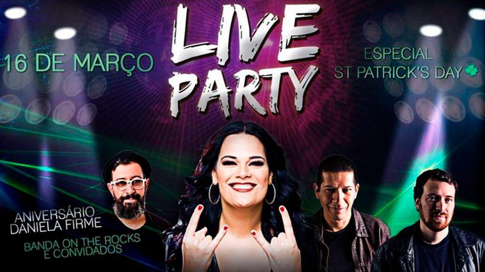 Daniela Firme celebra aniversário com festa temática de St. Patrick's e show repleto de participações especiais