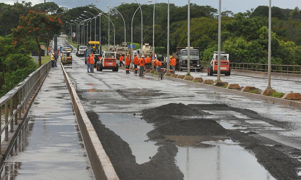 Ponte das Garças ficará interditada nos próximos fins de semana