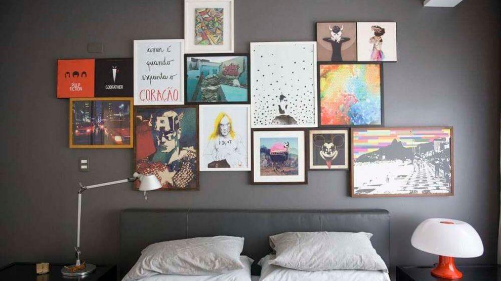 Saiba como colocar quadros na parede sem complicação