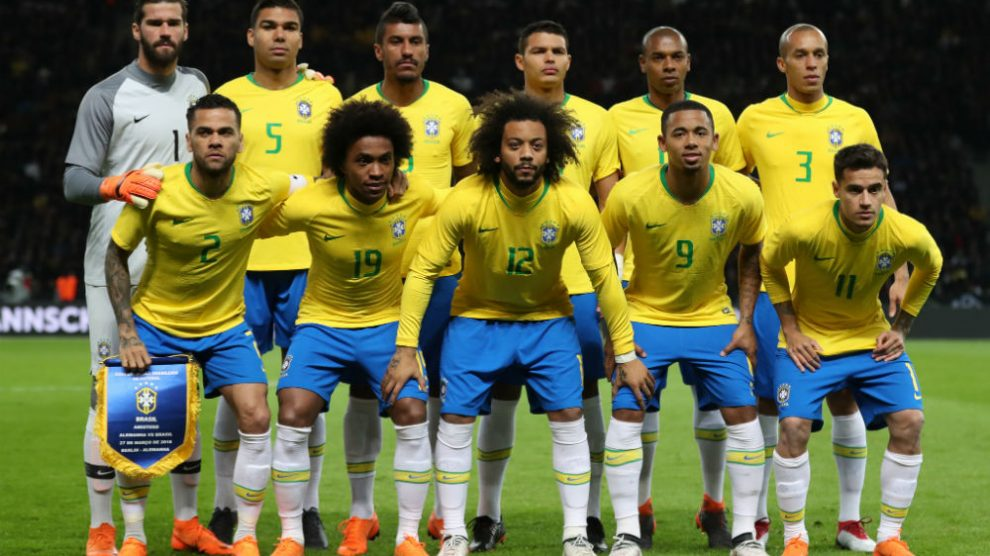 Resultado de imagem para Brasil se mantém em segundo lugar no ranking da Fifa