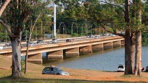 Trânsito: Ponte das Garças, Ponte JK e Eixo Monumental terão trânsito alterado