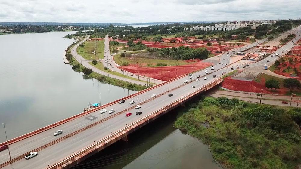 L4 Norte, sob a Ponte do Bragueto, fica interditada