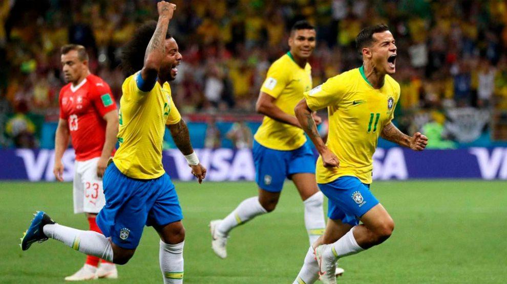 530d25ed7c Fifa faz top 10 e elege gol de Coutinho o mais bonito da 1ª fase.  29 06 2018 11 41. Fifa
