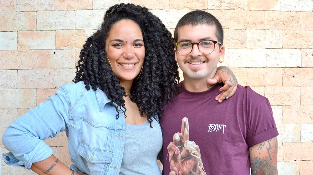 Júlia Almeida e Matheus Brito