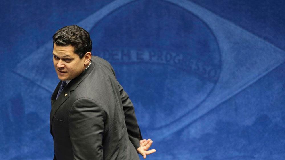 Apoiado por Onyx, Alcolumbre teve ascensão relâmpago. Foto: Fabio Rodrigues Pozzebom/Agência Brasil