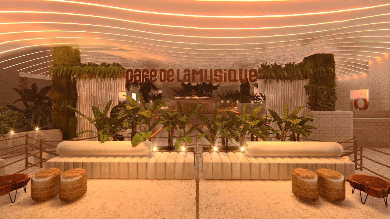 Café de La Musique Brasília abre as portas para o público dia 23 de dezembro