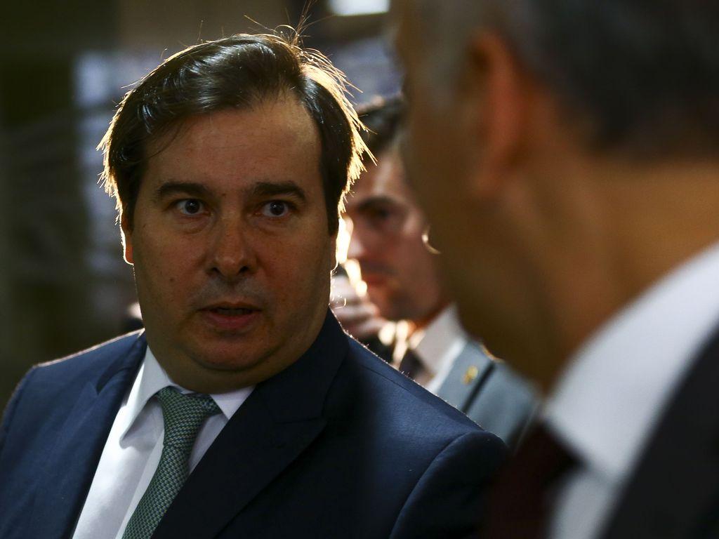O presidente da Câmara dos Deputados, Rodrigo Maia. Foto: Marcelo Camargo/Agência Brasil